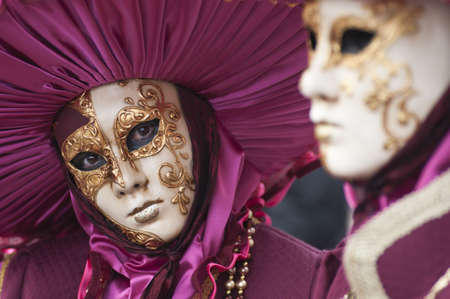 venice carnival: Carnival mask of Venice Stock Photo