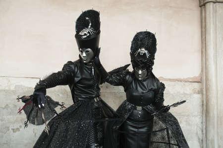 Carnival mask of Venice photo
