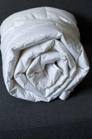 edred�n: Detalle de un blanco laminados edred�n