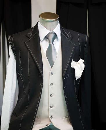 Ceremony handmade man Suit technique model