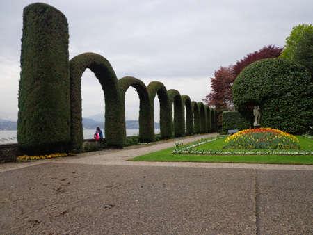 orta: Piemont garden