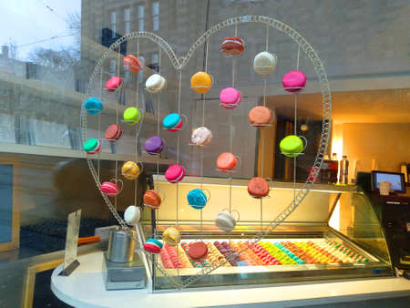 colorful sweets, tasty, cheerful, appetizing, for the little ones and the older ones. ready for a snack