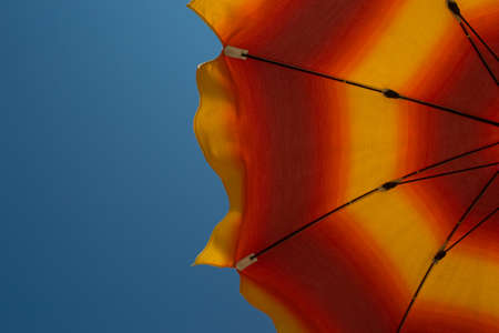 sun umbrella: Sun umbrella Stock Photo