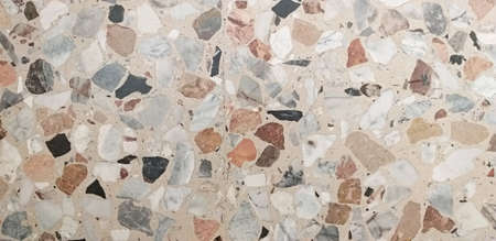 Old stone floor used in Italy in the 1950s Stock fotó