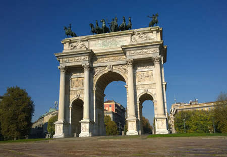 napoleon iii: Arch of Peace Milan