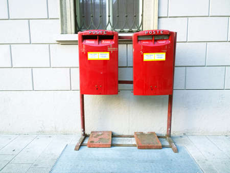 doubling: double postbox