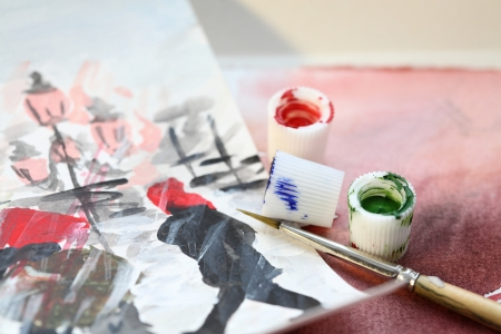 painting Venice Stock Photo - 17211793