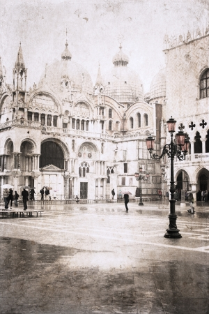 Venice, Itay, artwork in painting style,