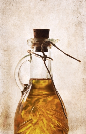 artwork in retro style,  extra virgin olive oil