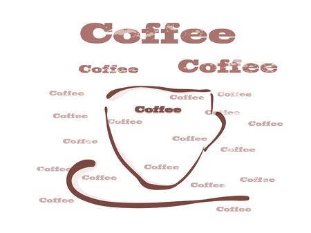 Vector illustration, coffee