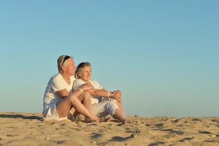 Mature beach photos