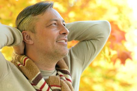 close up portrait of handsome man