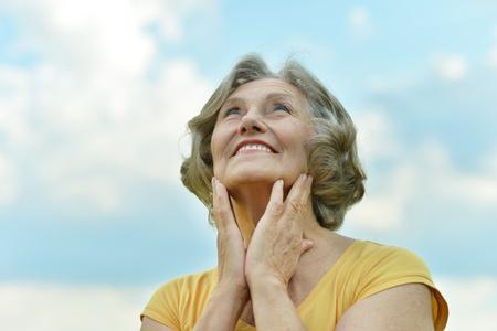 shroud: beautiful mature woman