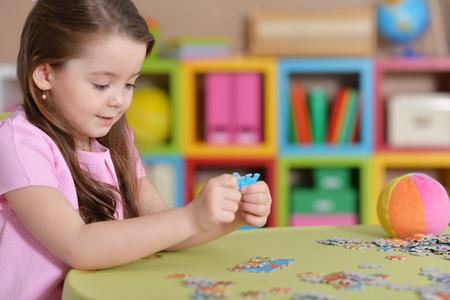 女の子パズルを収集
