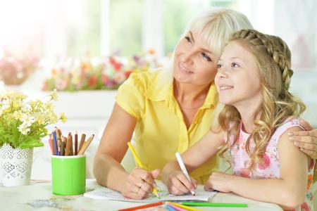 learning by doing: girl doing homework