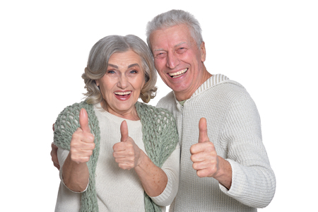 Happy senior couple Reklamní fotografie