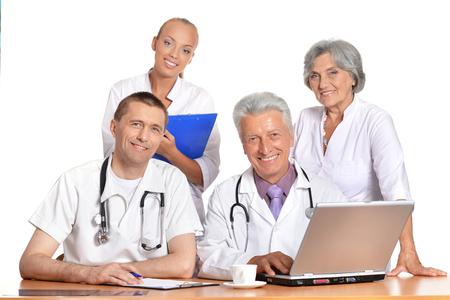group of doctors on meting