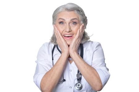 senior female doctor