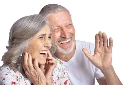laughing  senior couple Banque d'images - 119798952