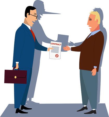 honorarios: Contractuales abusivas