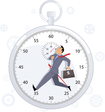 Time management Stock Vector - 29670982