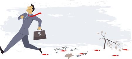 Le manque de responsabilité sociale des entreprises Banque d'images - 29670984