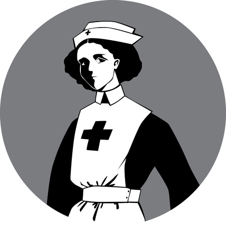 World War One Nurse Clipart