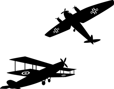 aircraft bomber: World War One planes