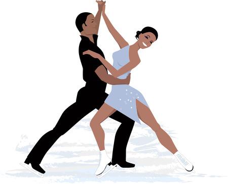 커플 아이스 댄스