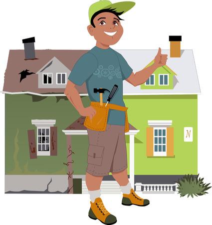 家を改修します。