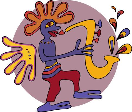 african sax: Jazz Saxophone
