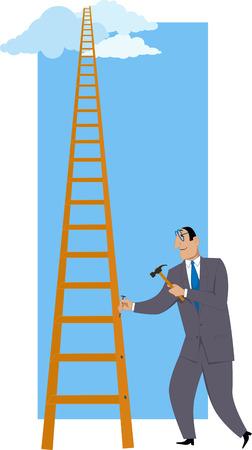 Het bouwen van een ladder van succes