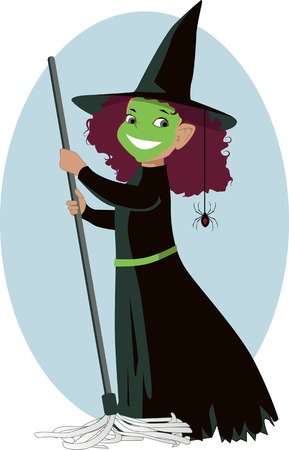stage costume: Little Wicked Witch
