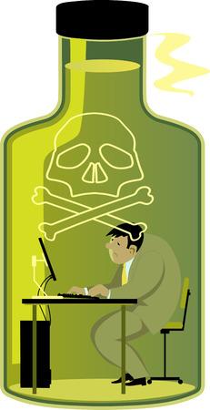Toxic werkomgeving
