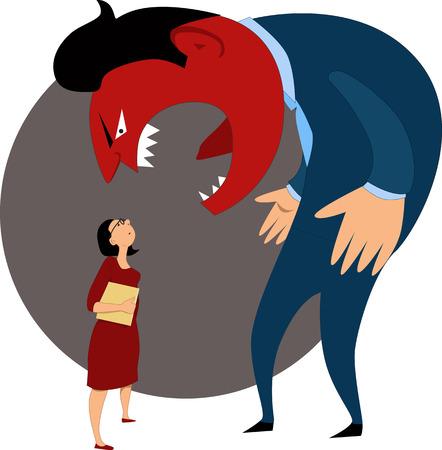 jefe: La agresi�n verbal contra una empleada