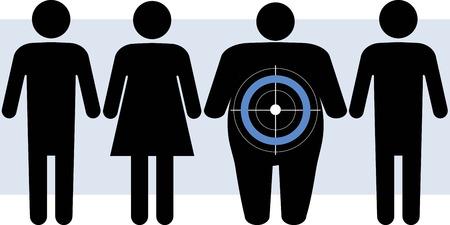 Diabetes richt zich op mensen met overgewicht