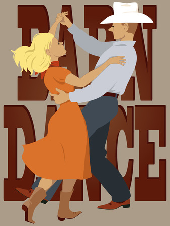 west country: Barn dance