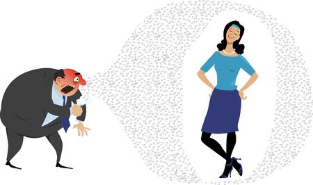 La femme avec un système immunitaire fort ou qui a été vaccinée est protégée contre les germes