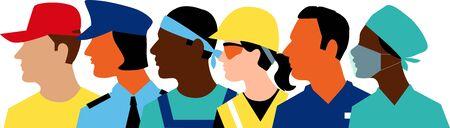Profil des membres de la main-d'œuvre essentielle
