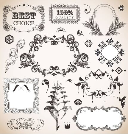 Vintage frame for You design Stock Vector - 15602763