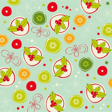 Seamless romantic pattern  Vector