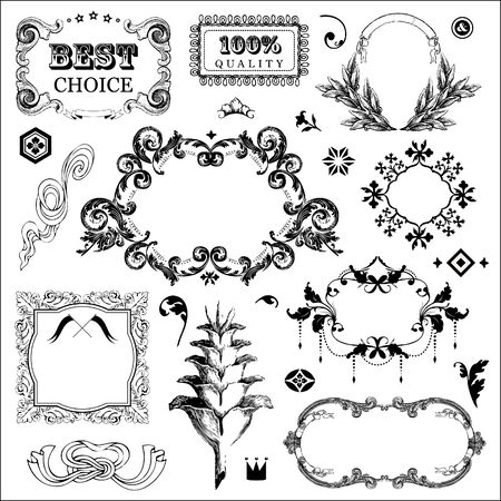 Vintage frames for You design Stock Vector - 18169466