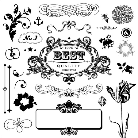 set in vintage style for You  Stock Vector - 18169454