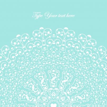 Lovely elegant card for Your design  Vector