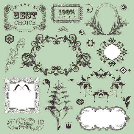 Vintage frames for You design  Stock Vector - 18175649