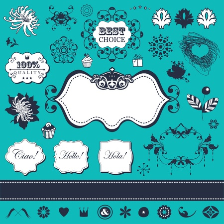 Vector set in vintage style for You Stock Vector - 18175648