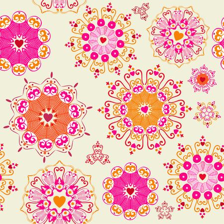 Lovely seamless pattern  Vector