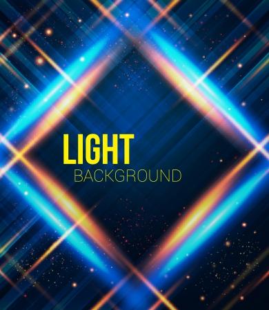 effetti di luce: Astratto plaid con effetti di luce