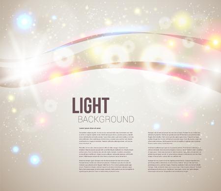 明るく輝くキラキラとあなたのプレゼンテーションの抽象的な背景背景