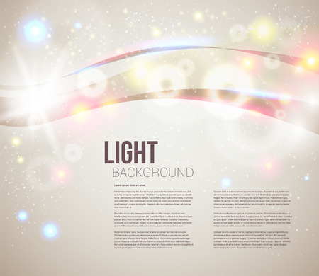Bright and sparkling background for your presentation  Abstract background with glitter